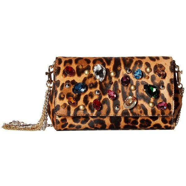 Dolce   Gabbana Anna Bag (Leopard) Shoulder Handbags ( 2,271) ❤ liked on  Polyvore featuring bags, handbags, shoulder bags, dolce gabbana purses,  dolce ... a823ed47c4d
