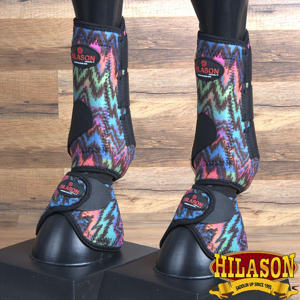 Small Hilason Horse Front Leg Neoprene Sport Bell Boots