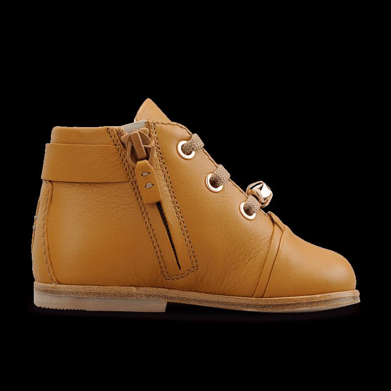 Monilo Curious Alice In Caramel Luxury Leather Ankle Boots For Girls Leather Ankle Boots Boots Calf Leather