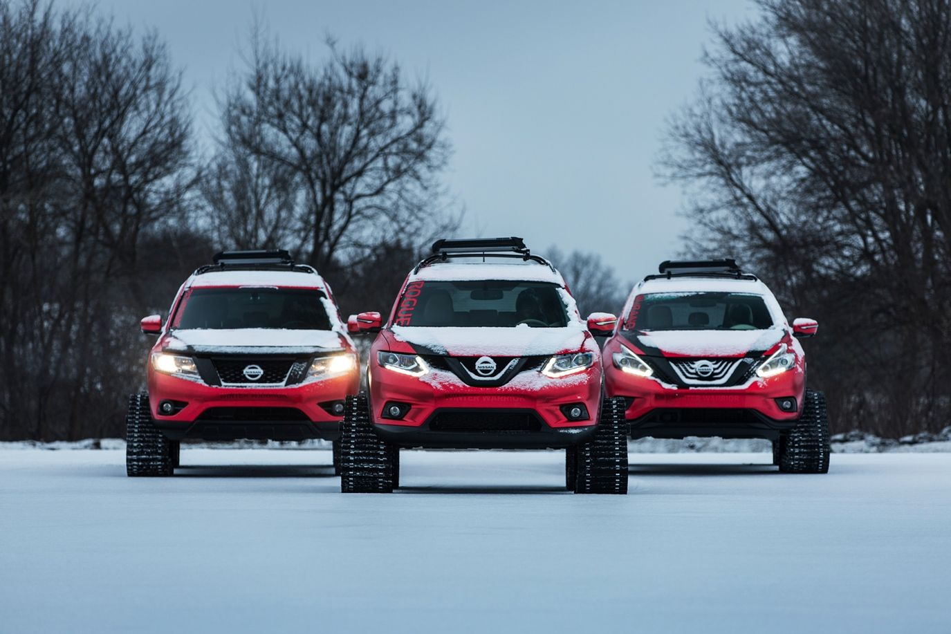 Nissan winter warrior has came up with three new models to showcase in the chicago auto show