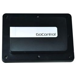 GoControl Z-Wave Garage Door Remote Controller Assembly  zwave about $100   there is also one from Chamberlain the garage opener maker.