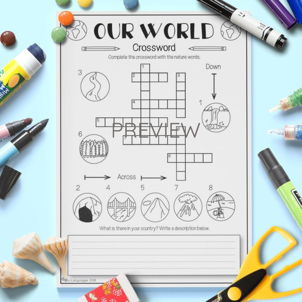 Our World Crossword