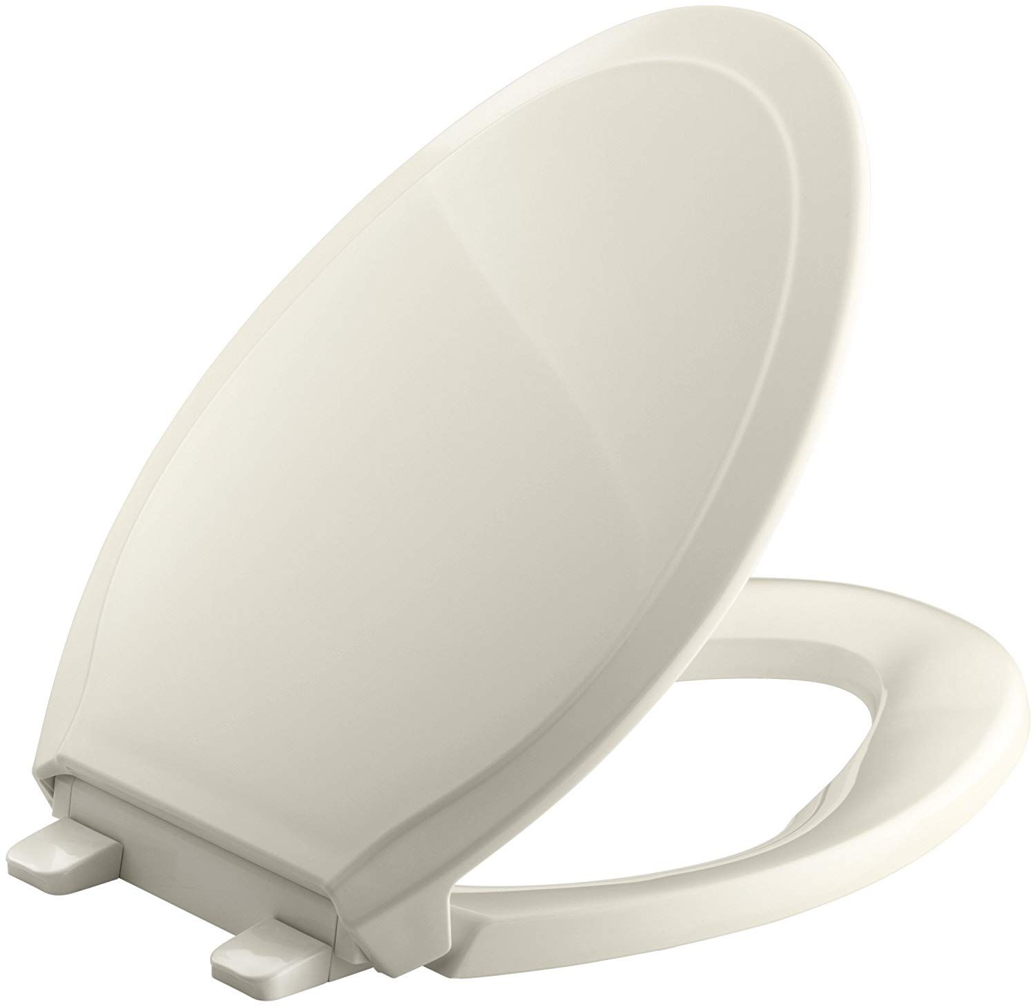 Kohler K 4734 47 Rutledge Quiet Close With Grip Tight Bumpers Elongated Toilet Seat Almond Click Image To Review Elongated Toilet Seat Toilet Seat Kohler