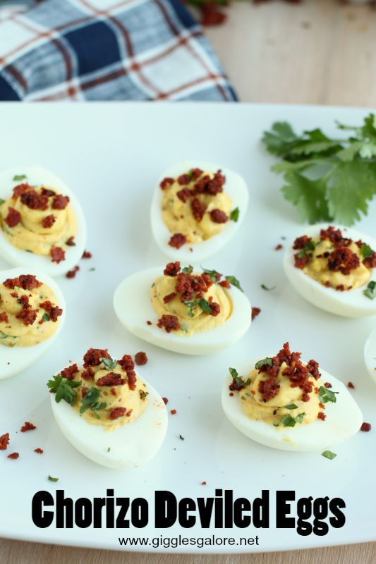 Chorizo deviled eggs the perfect game day appetizer with a spicy chorizo deviled eggs the perfect game day appetizer with a spicy kick lonestareggs ad celebrate football season pinterest devil egg and recipes forumfinder Choice Image