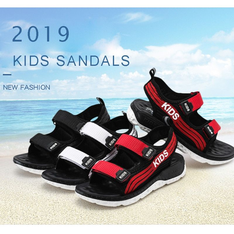 Fashion Kids Boys Sandals Children Students Summer Casual Shoes Beach Sandals