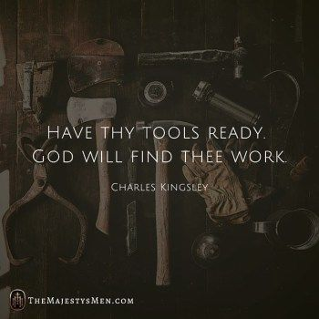 Charles Kingsley On Being Ready For God's Calling – [Quote]