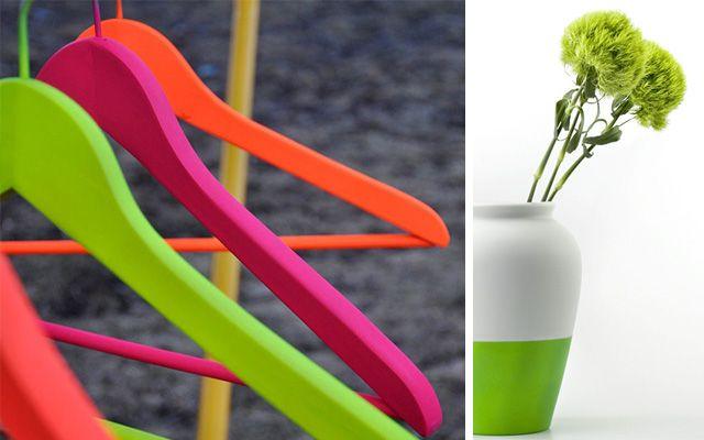 Ideas de decoración con colores flúorDecofilia.com