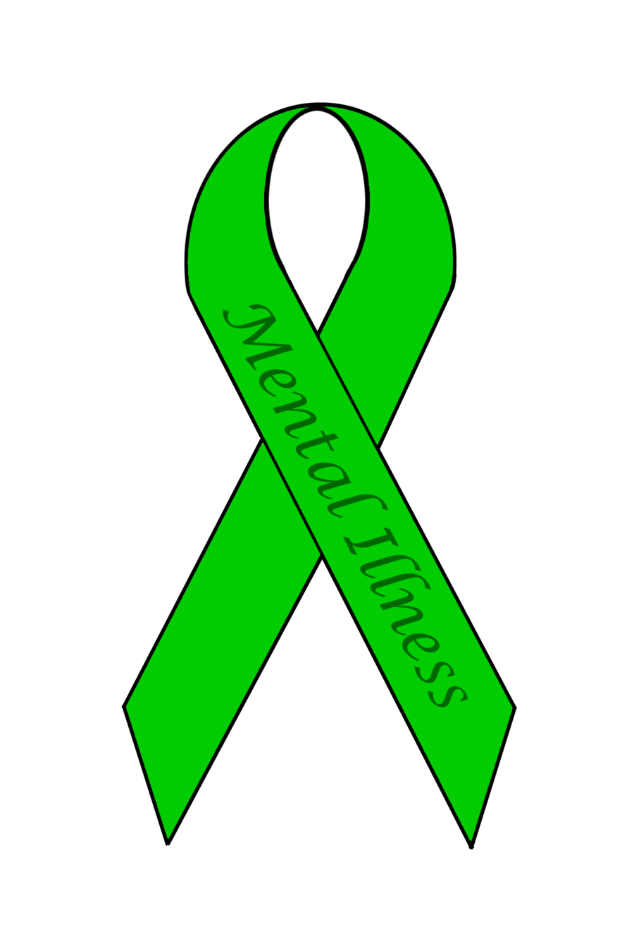 Mental Health Awareness Ribbon Colors Mental Illness Awareness