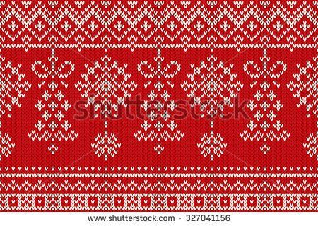 Image result for fair isle christmas candy knitting pattern   Sock ...