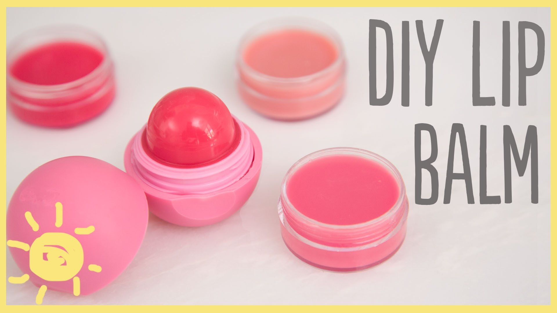 Did you know that you can make homemade lip balm in 5