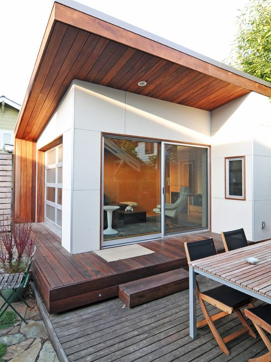 Modern Home Design Exterior Home Deck Outdoor