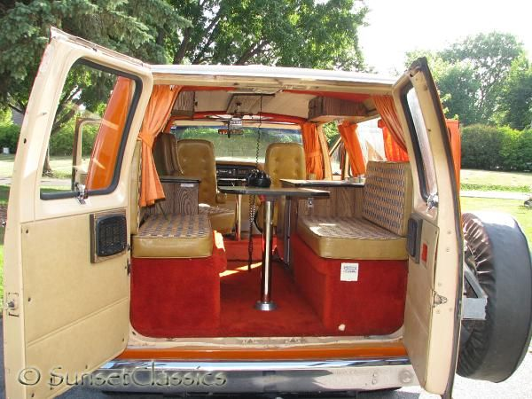 1977 Ford Conversion Van Close Up Gallery 173