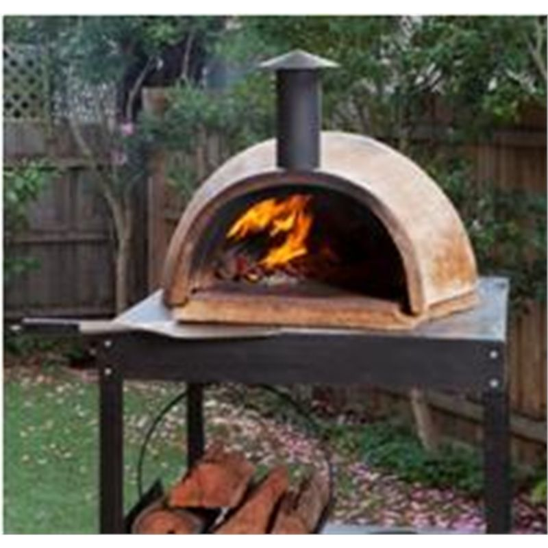 Chapala 800 X 800mm Clay Pizza Oven Stand