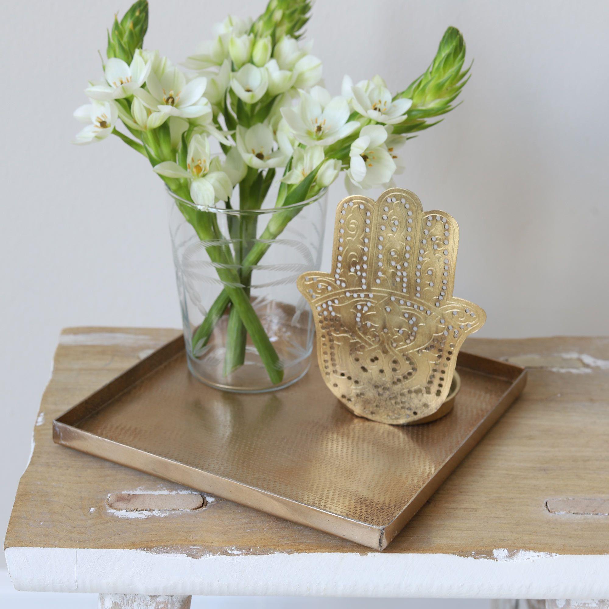 Goldenes Dekotablett Online Kaufen Tabletts Im Sale Bei Soulbirdee In 2020 Dekoration Dekorieren Kerzen Dekorieren