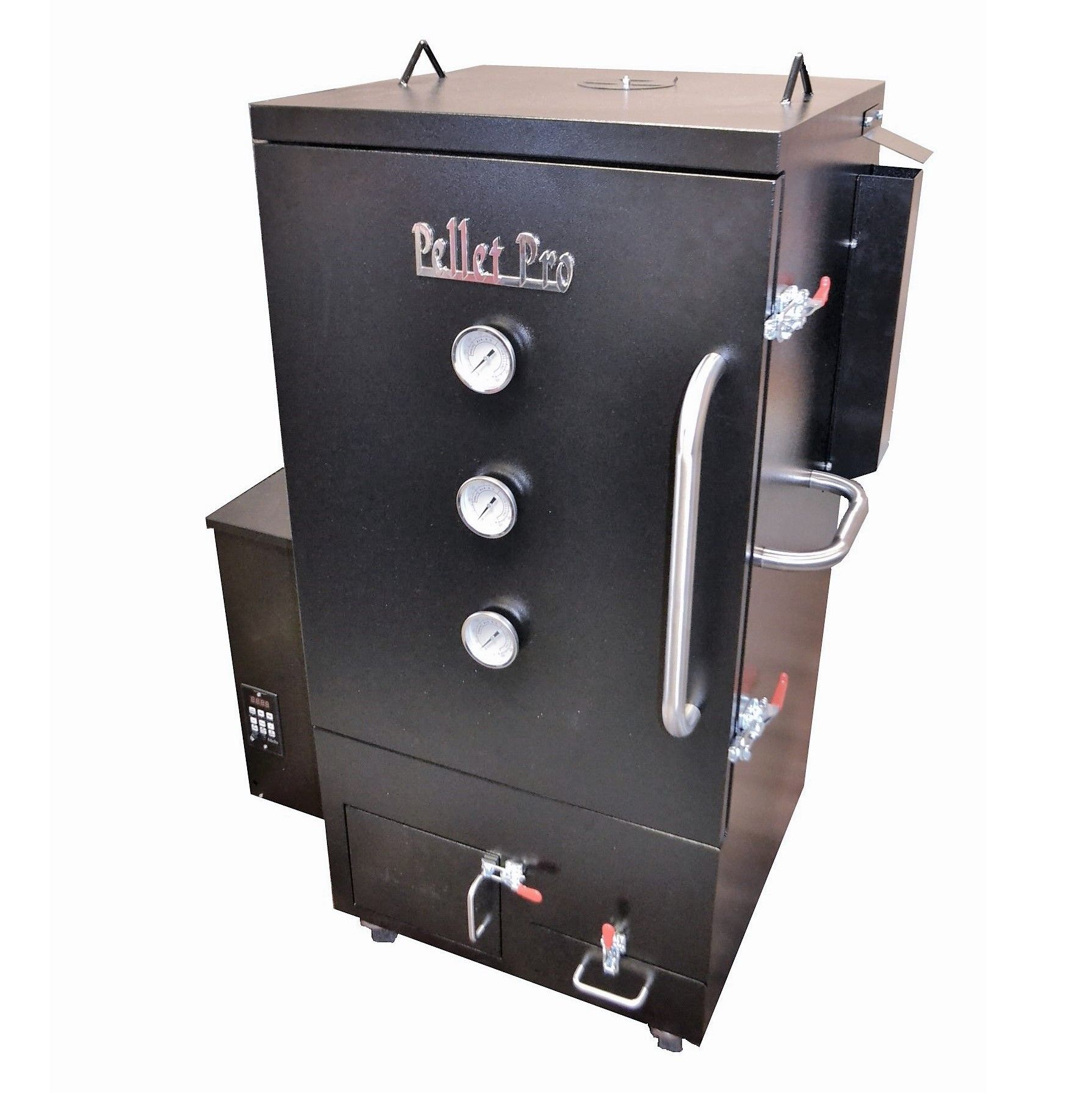 The Pellet Pro® Vertical Double Wall Pellet Smoker