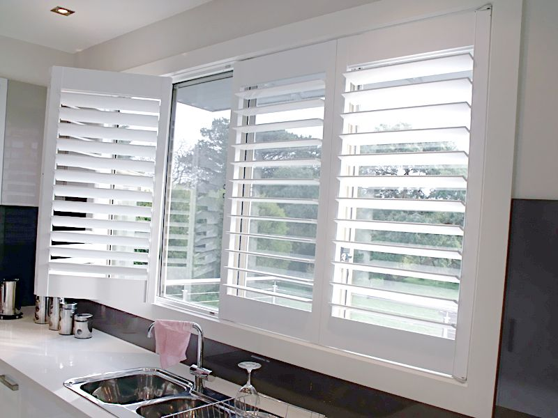 Plantation shutters open google search window for Window shutters