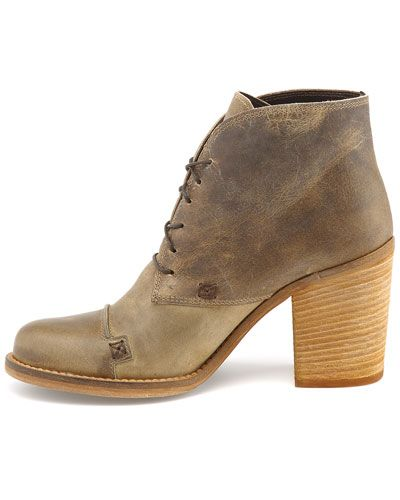 Charles David 'Grifter' Leather Ankle Boot