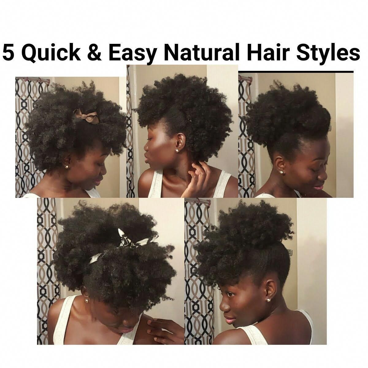 These Natural Hairstyles For Short Hair Are Fab Naturalhairstylesforshorthair Natural Hair Styles Easy Natural Hair Styles Medium Hair Styles