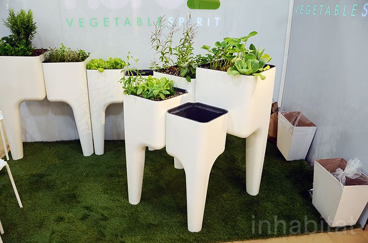 Hurbz Unveils Stylish KiGA Modular Kitchen Garden Concept Hurbz KiGA garden – Inhabitat - Green Design, Innovation, Architecture, Green Building