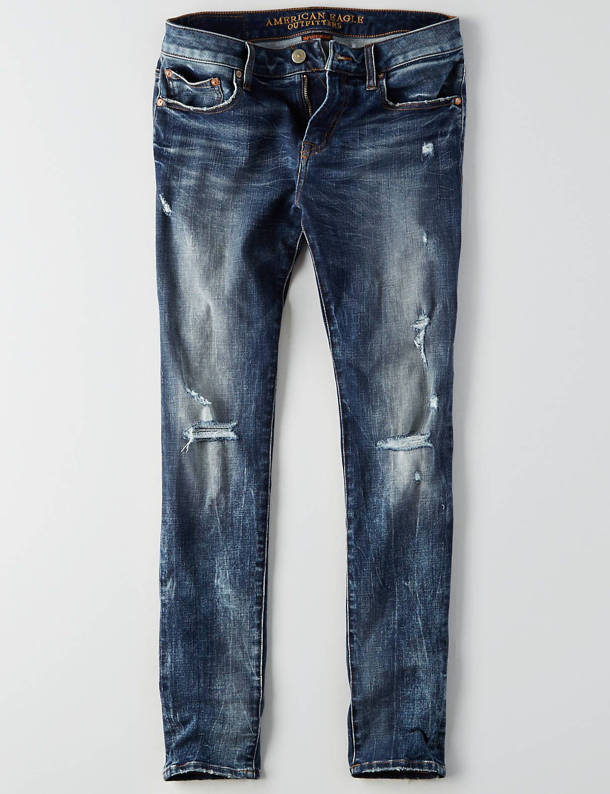american eagle stretch jeans mens