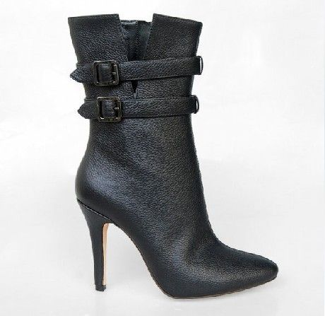 high heel boots | Leather High Heel Boots