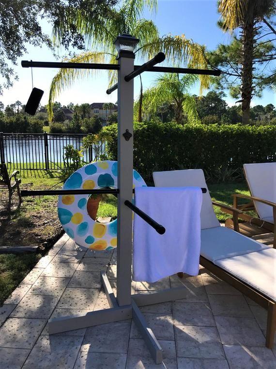 Pool Towel Tree
