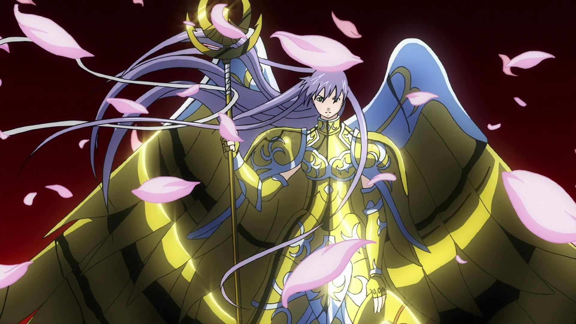 Athena(sasha) Lost Canvas | caps saint seiya screenshots