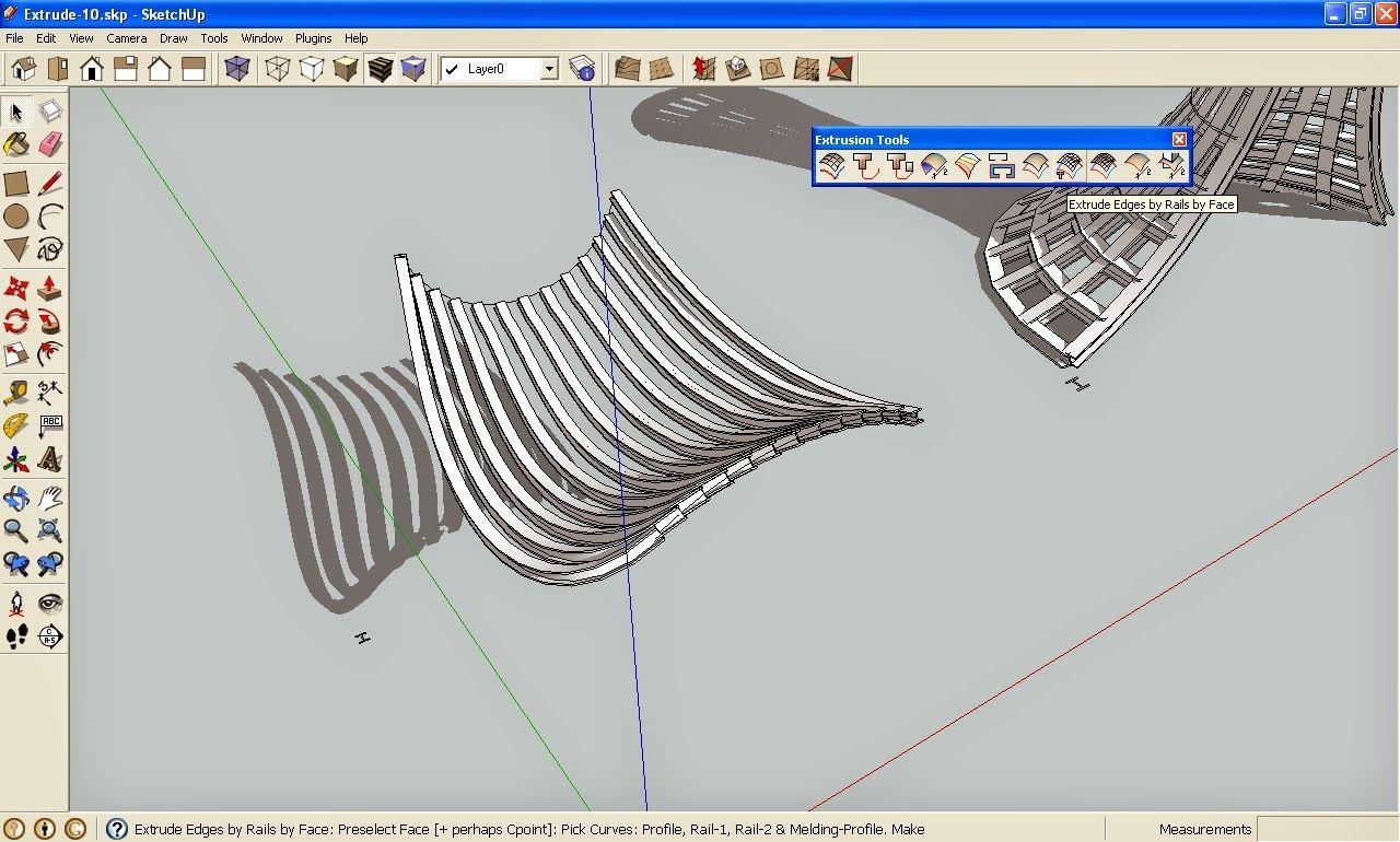 Extrude Tools, SketchUp Plugins, SketchUp Plugins, SketchUp