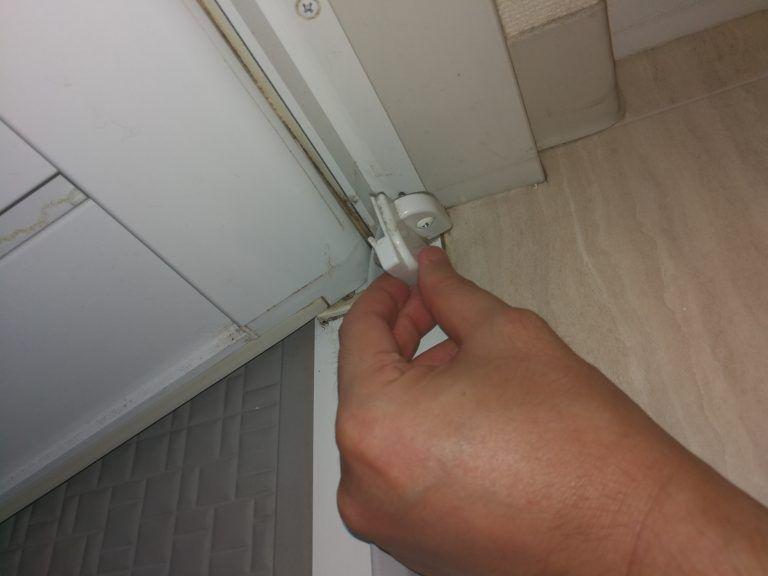 ボード 浴室ドア のピン