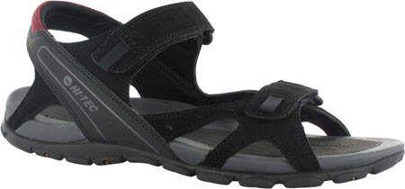 61189b3ee56b Hi-Tec Men s Laguna Strap - Black Charcoal Port Sandals