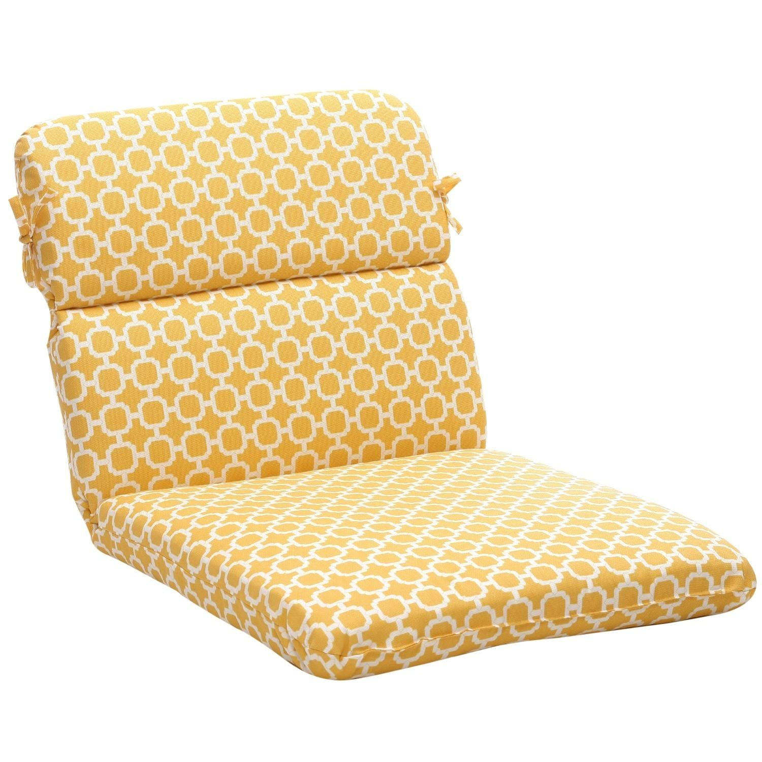 40 5 eco friendly rounded outdoor chair cushion geometric