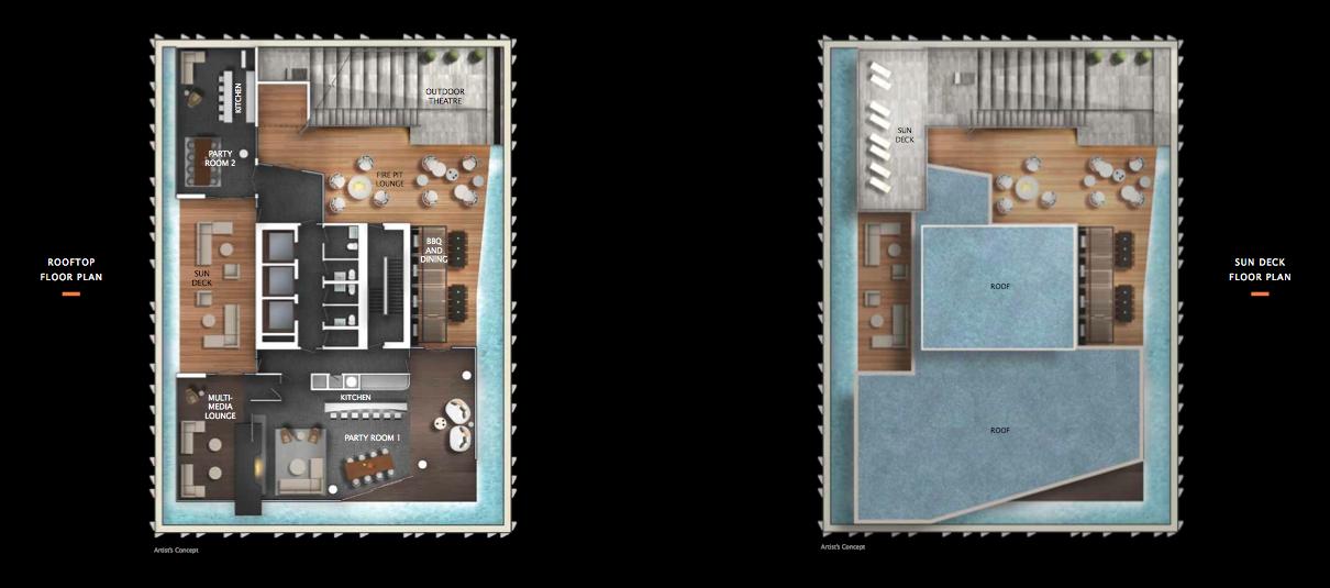 Floor Plans At 1 Yorkville Yorkville Locker Storage Floor Plans