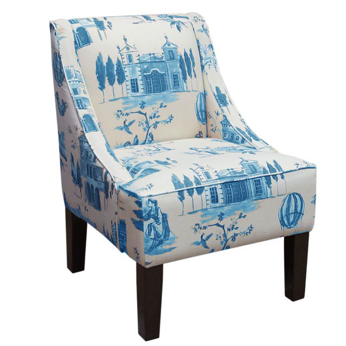 Isabella Accent Chair Chinoiserie Amp Toile Accent
