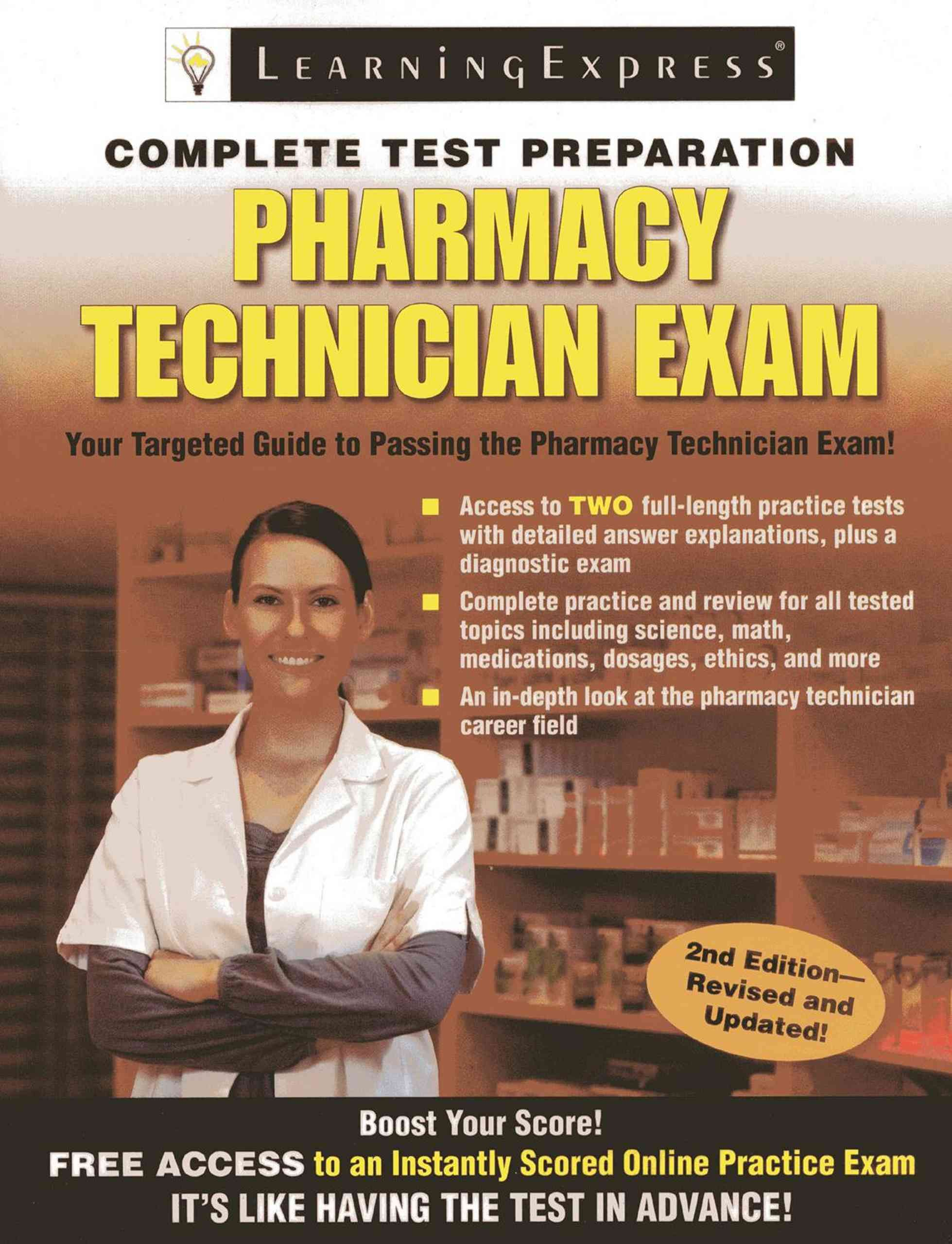 Pharmacy technician exam paperback pharmacy technician and pharmacy technician exam paperback xflitez Choice Image