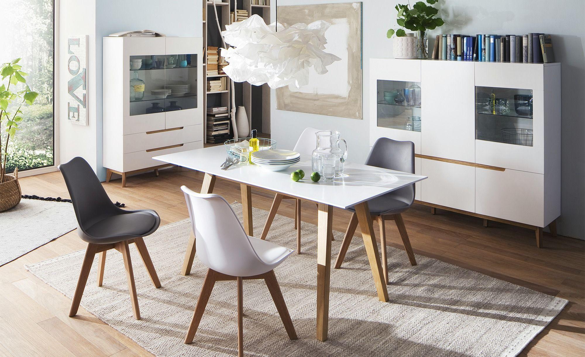 Vitrine Casoria Gefunden Bei Mobel Hoffner Haus Deko Glasboden Und Grosse Schubladen