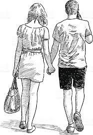 Resultat De Recherche D Images Pour Jeune Couple Marchant De Dos