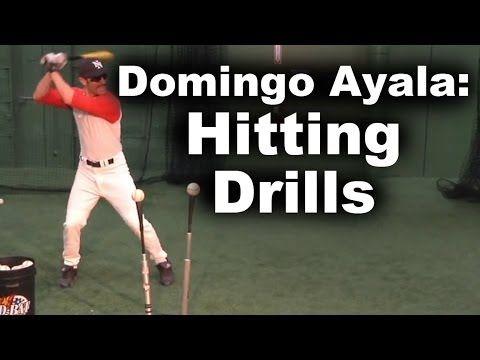Domingo Ayala Hitting Drills Youtube Baseball Drills