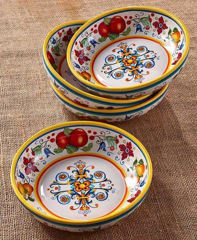 Italian Tuscan Style Dinnerware Cruet Bowls Lazy Susan Stoneware Dining Set | Soup bowl set Bowl set and Tuscan style & Italian Tuscan Style Dinnerware Cruet Bowls Lazy Susan Stoneware ...