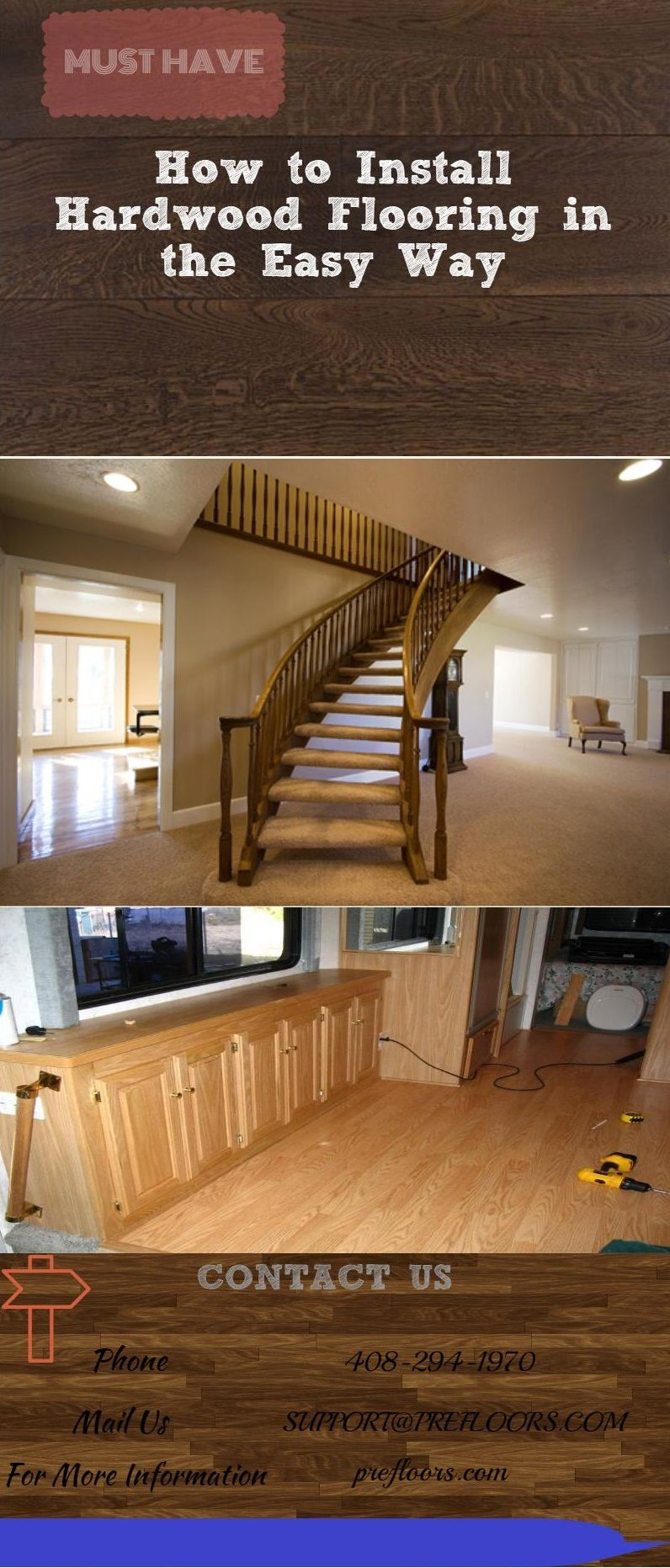 How to Install Hardwood Flooring in the Easy Way On the