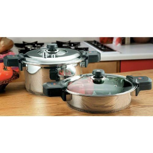 Precise Heat Element Low Pressure, Pressure Cooker