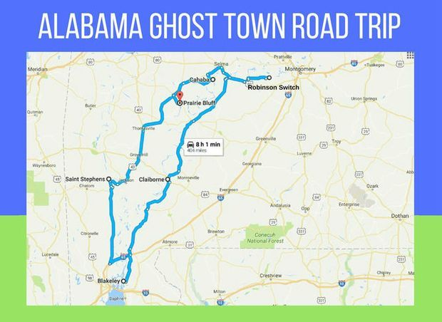 Take a south Alabama Ghost Town Road Trip with this guide ...