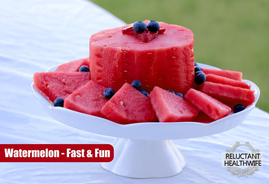 watermelon cake  Layer it with berries between. Decorate with other fruit ie grapes, kiwi