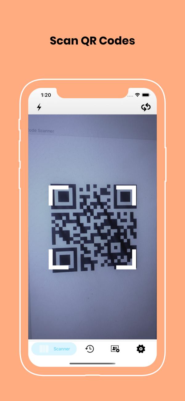 Qr Code Reader And Scanner On The App Store Coding Scanner Messaging App