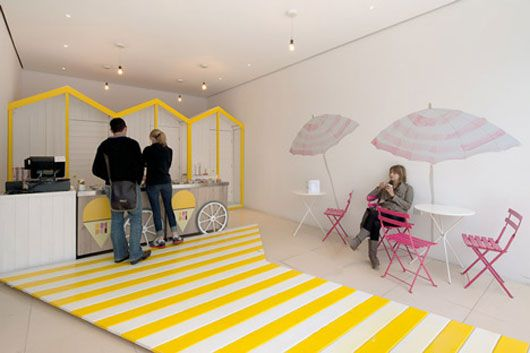 Ice Cream Shop Interior Shop Interiors Shop Interior Retail Space