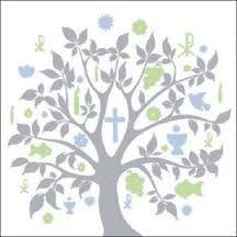 Bildergebnis Für Symbole Taufe Lebensbaum Servietten