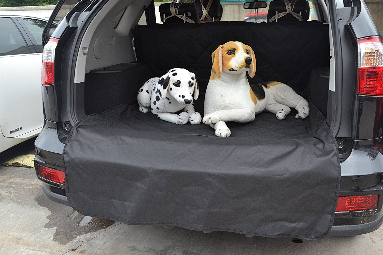 Pettom Waterproof Durable Pet Seat Cover for Cars Cargo