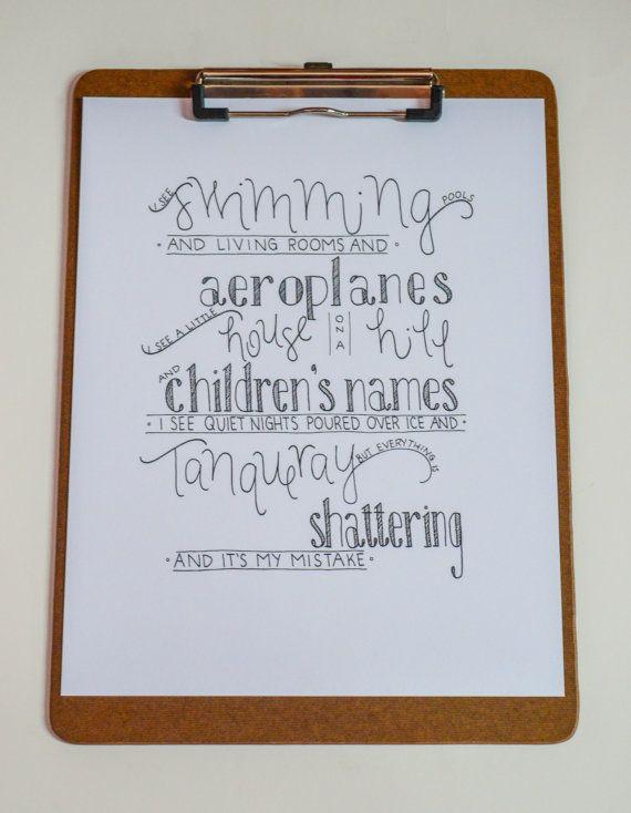 Fools troye sivan lyrics typograpphy blue by - Swimming pools lyrics troye sivan ...