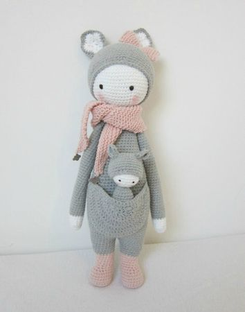 Lityfa | Mini Rita the rabbit doll - a tribute to Lalylala - Lityfa | 450x354