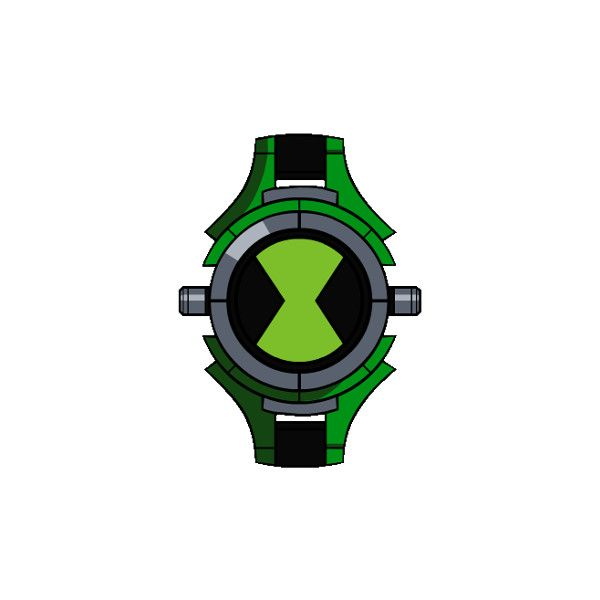 Omnitrix original ben 10 liked on polyvore featuring - Ben 10 montre ...