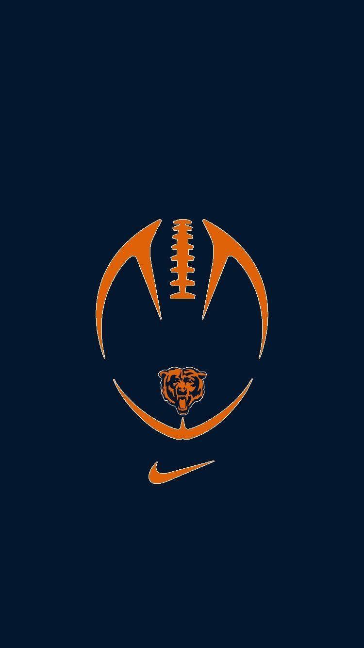 Pin By Los On Da Bears Chicago Bears Wallpaper Chicago Bears Logo Chicago Bears